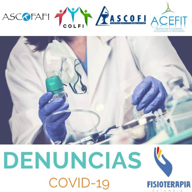 Denuncias condiciones laborales en la pandemia COVID-19 (EPP, carga de trabajo, salarios, etc).