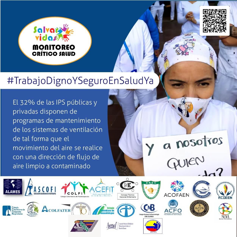Segundo Informe Monitoreo Crítico a Condiciones de Trabajo y Bioseguridad del Trabajadoras-es de Salud en Pandemia COVID-19