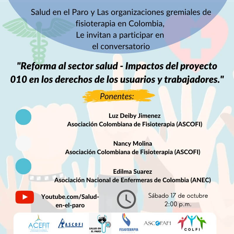Reforma al sector salud-Impactos del proyecto de ley 010 en los derechos de los usuarios y trabajadores