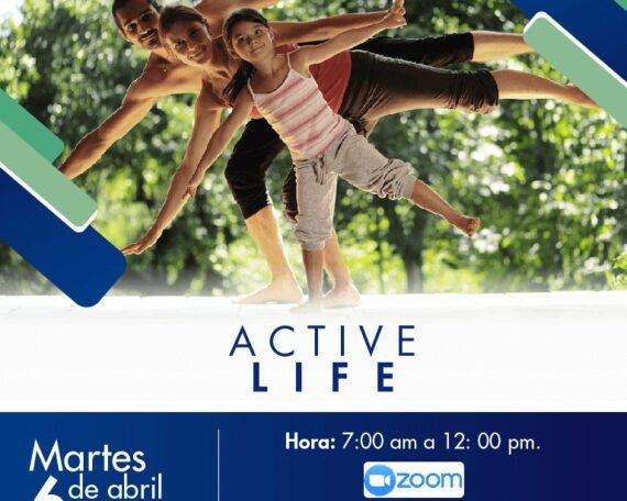ACTIVE LIFE EN EL DÍA INTERNACIONAL DE LA ACTIVIDAD FISICA- 6 DE ABRIL
